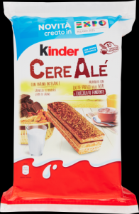 KINDER FERRERO Cereales Chocolat Pack Fudge 10 Pieces 275 Grammes Collations Sucrées