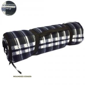 BETTY GARDEN Coperta Picnic Telo Campeggio Impermeabile Blu Scottish Campeggio