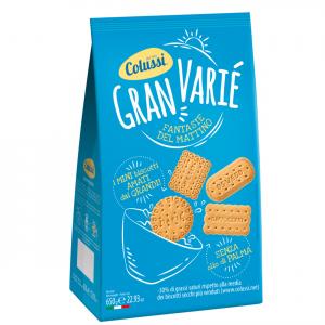 COLUSSI Biscotti Gran Variè Senza Olio Di Palma Confezione Da 650 Grammi