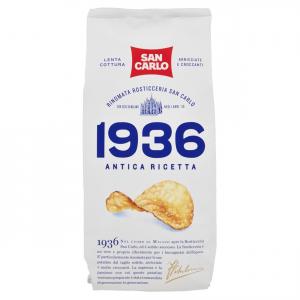 SAN CARLO 1936 Old Pack Recette De 150 Grammes Chips Collations Salées