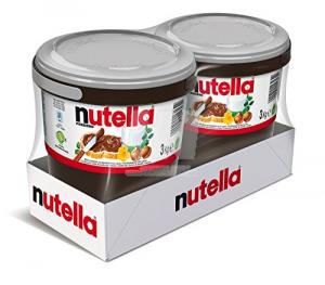 FERRERO Nutella 2 Cubos De 3 Kg Cada Una Para Especialidad Supercrema Brown Dulce Chocolate