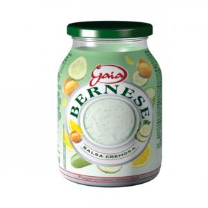 GAIA Salsa Bernese Confezione In Barattolo Di Vetro Da 960 Grammi Condimento