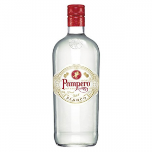 PAMPERO Rum White Box In Glass Bottle 1 Liter  Alcoholic Beverage