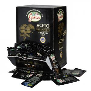 GAIA Aceto Balsamico 198 Bustine Da 5 Ml Cadauna Condimento - Made In Italy