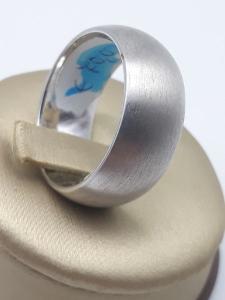 Anello donna in argento 925 a fascia misura 23 vendita on line   BRUNI GIOIELLERIA