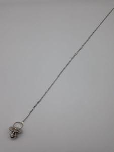 Collana donna in argento 925 con ciondolo a ciuccio in vendita on line   BRUNI OREFICERIA