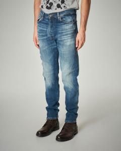 Jeans cropped stonewash