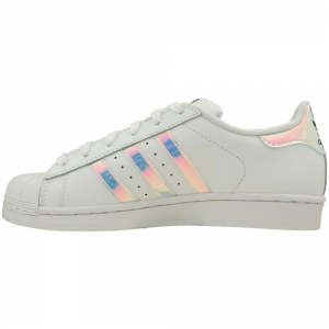 SNEAKERS ADIDAS SUPERSTAR J AQ6278 WHITE METSIL