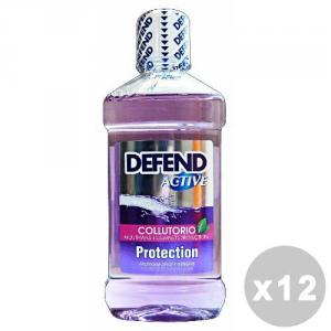 DEFEND Set 12 DEFEND Rince-bouche Actif 500 ml - Dentifrices