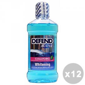 DEFEND Set 12 DEFEND Rince-bouche Actif Blanchiment 500 ml - Dentifrices