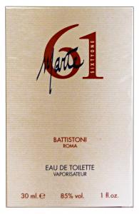 BATTISTONI Marte sixty one Eau de toilette Colonia uomo 30 ml. - Profumo maschile