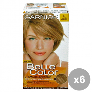 Set 6 Belle Color 2 Blonde Natural Products For Hair