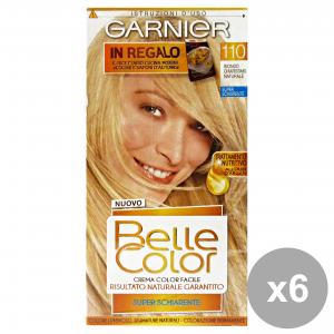 Set 6 Belle Color 110 Blonde Very Clear Natural Products For Hair