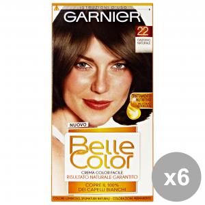 Set 6 BELLE COLOR 22 Castano Naturale Prodotti per capelli