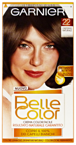BELLE COLOR 22 castano naturale - Colorante per capelli