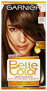 Belle Color 20 Brown Clear Natural - Colorant For Hair