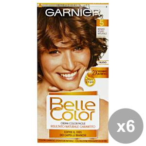 Set 6 BELLE COLOR 5 Biondo Scuro Naturale Prodotti per capelli