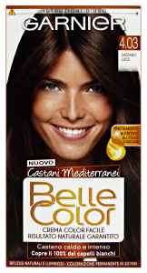 BELLE COLOR 4.03 castano luce - Colorante per capelli