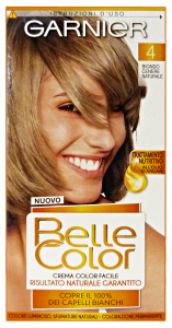 BELLE COLOR 4biondo cenere naturale - Colorante per capelli