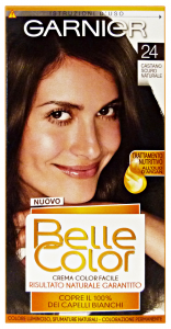 BELLE COLOR 24 castano scuro naturale - Colorante per capelli
