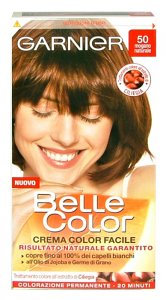BELLE COLOR 50 mogano naturale - Colorante per capelli