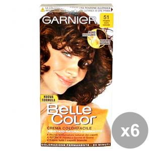Set 6 BELLE COLOR 51 MogaNo Scuro Naturale Prodotti per capelli
