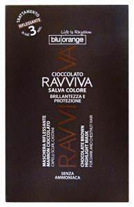 BLU ORANGE Ravviva maschera riflessante cioccolato monodose