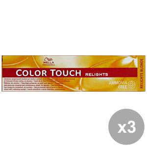 Set 3 COLOR TOUCH Professionale RELIGHTS-06 Naturale VIOLETTO Prodotti per capelli