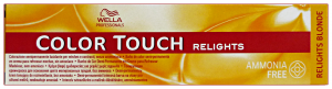 COLOR TOUCH Professionale RELIGHTSenza-74 SABBIA RAMATO Colorazione capelli