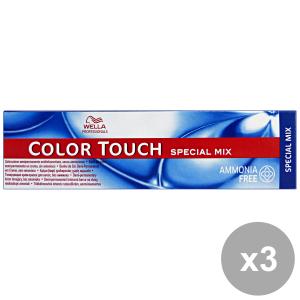 Set 3 COLOR TOUCH Professionale Mix 0-68 VIOLA BLUETTE Prodotti per capelli