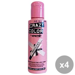 Set 4 CRAZY COLOR 31 NeutraL 100 Ml. Prodotti per capelli