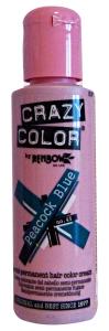 CRAZY COLOR 45 PEACOCK BLUE 100 Ml. Colorazione capelli