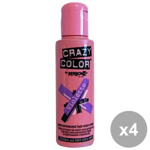 Set 4 CRAZY COLOR 43 VIOLETTE 100 Ml. Prodotti per capelli