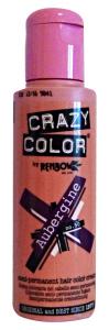 CRAZY COLOR 50 AUBERGINE 100 Ml. Colorazione capelli