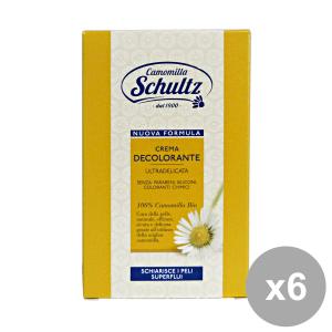 Set 6 CAMOMILLA SCHULTZ Crema DECoorante Camomilla 75 Ml. Prodotti per capelli