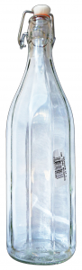 Glass bottle 1000 Cc. With Cap Automatic
