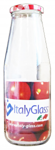 Bottiglia in vetro per passata 720 cc. con tappo