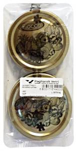 Tappo x vasi in vetro 70 mm diametro * 2 pz.  - Vaschette per alimenti