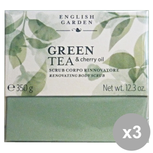 Set 3 ATKINSONS Scrub Body Green TEA Vase 250 ml Body care