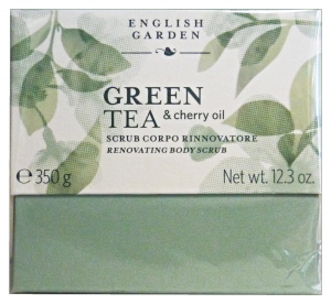 ATKINSONS Scrub Body Green TEA Vase 250 ml Body care