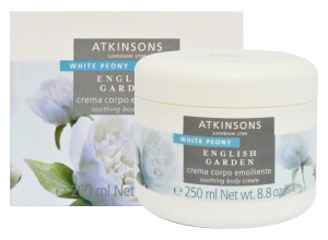 ATKINSONS Cream Body WHITE PEONY Vase 250 ml Body care