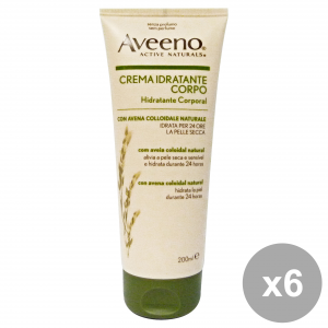 Set 6 Aveeno Body Moisturizing 200 Ml Body Care