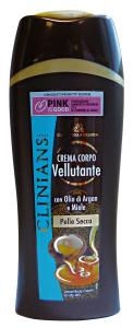 CLINIANS Crema Fluida Velluttante Argan-Miele Pelli Sensibili 250 Ml. Cura del corpo