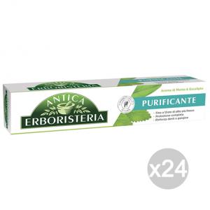Set 24 ANTICA ERBORISTERIA Dentifricio 75 Ml Purificante Menta/Eucalipto
