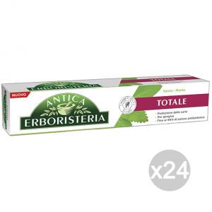 Set 24 ANTICA ERBORISTERIA Pasta de dientes 75 ml Total Salvia y menta Cuidado Y Higiene Dental