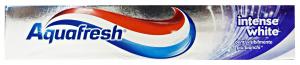 Aquafresh Intense Toothpaste White 75 Ml - Toothpaste