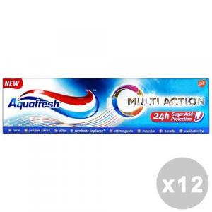 AQUAFRESH Set 12 AQUAFRESH Dentifricio multi action 75 ml. - dentifrici