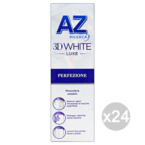 Set 24 Az 3d Toothpaste Luxe Perfection 75 Ml Cure And Hygiene Dental