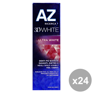 Set 24 AZ DENTIFRICIO 3D WHITE Ultra WHITE 75 Ml. Prodotti per il viso
