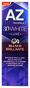AZ DENTIFRICIO 3d luxe bianco brillante 75 ml. - Dentifricio